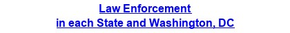 Law Enforcement in each State and Washington, DC